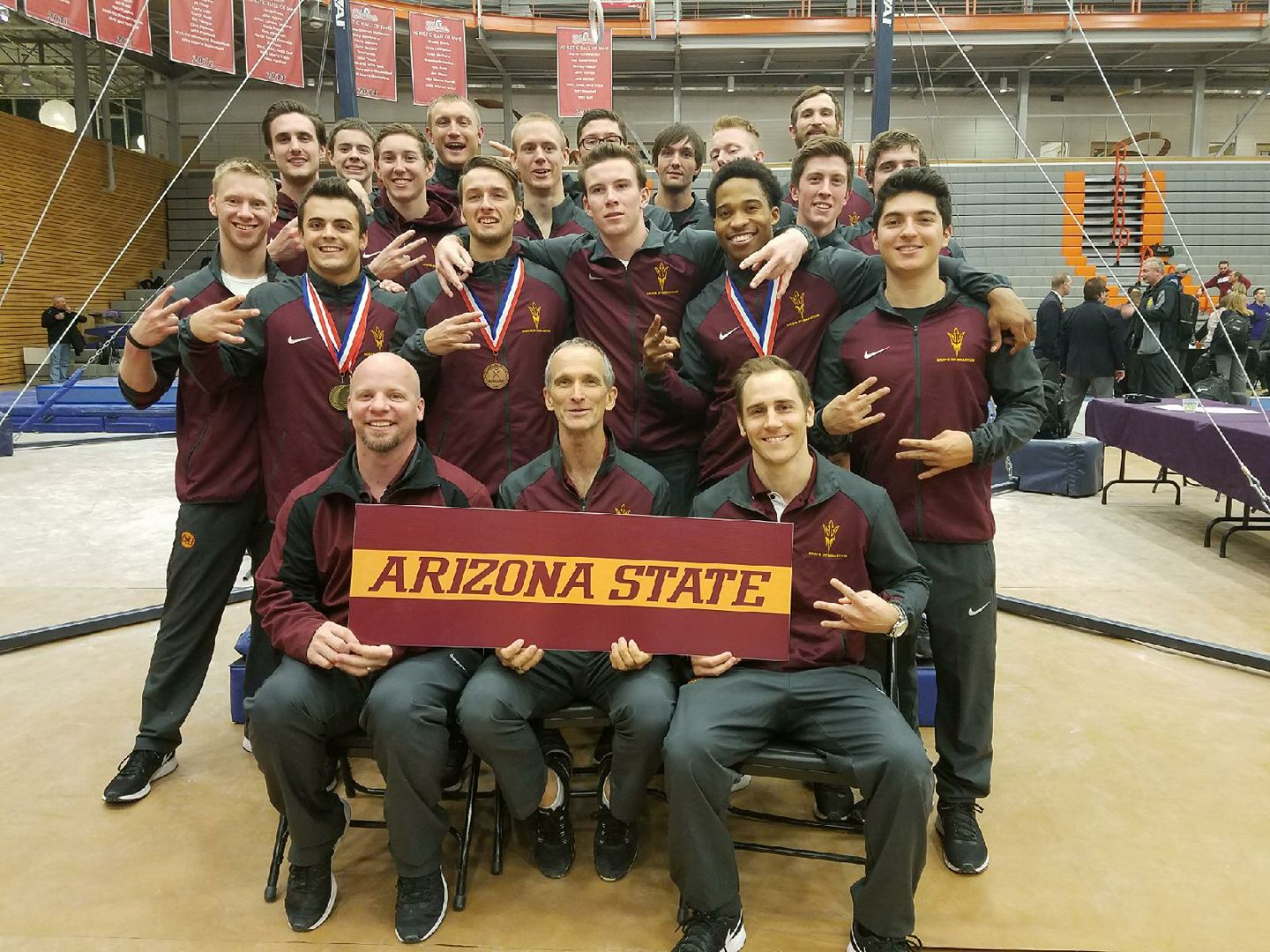 ASU team national champions 2017